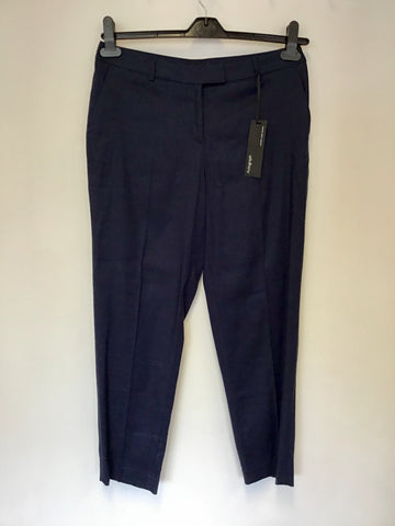 BRAND NEW MARKS & SPENCER AUTOGRAPH LUXURY LINEN TROUSERS SIZE 10M