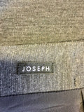 JOSEPH DARK GREY WOOL PENCIL SKIRT SIZE 36 UK 8