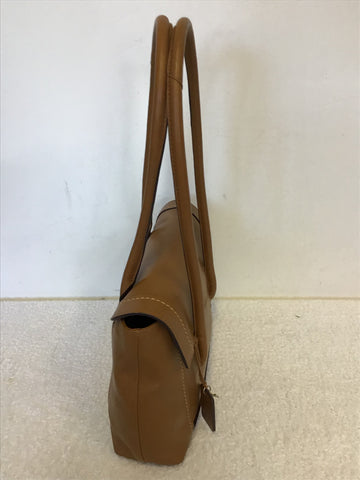 RADLEY TAN LEATHER SHOULDER BAG