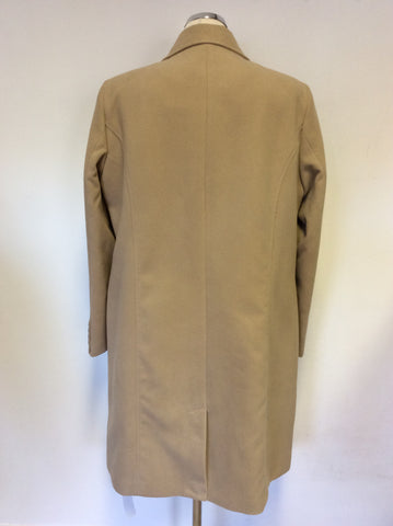BRAND NEW CAPSULE CAMEL MACHINE WASHABLE COAT SIZE 18
