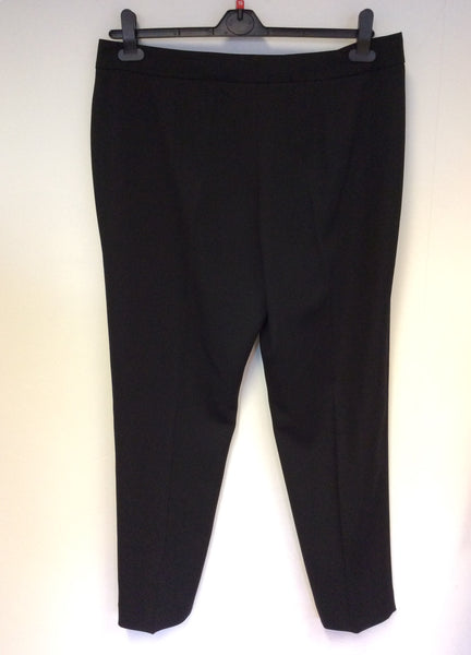 BRAND NEW GINA BACCONI BLACK SMART TROUSERS SIZE 18