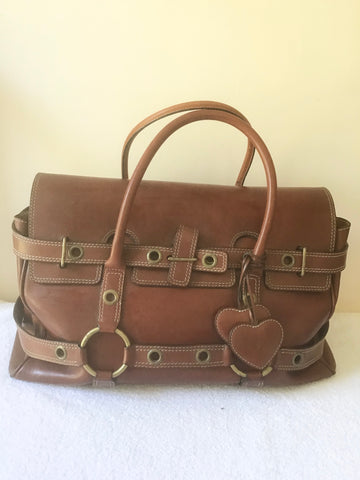 MULBERRY FOR LUELLA BARTLEY TAN LEATHER LIMITED EDITION GISELLE BAG