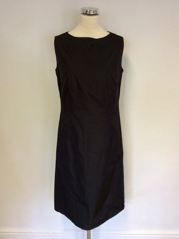 BASLER BLACK SLEEVELESS PENCIL DRESS SIZE 12