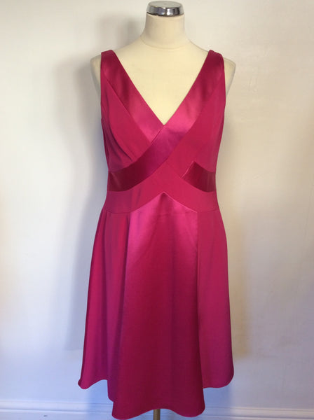 BRAND NEW MARKS & SPENCER AUTOGRAPH PINK FIZZ SPECIAL OCCASION DRESS SIZE 12