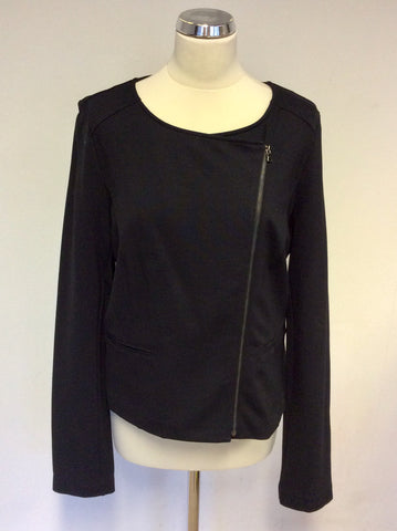 BRAND NEW ESCORPION BLACK ZIP UP JACKET SIZE L