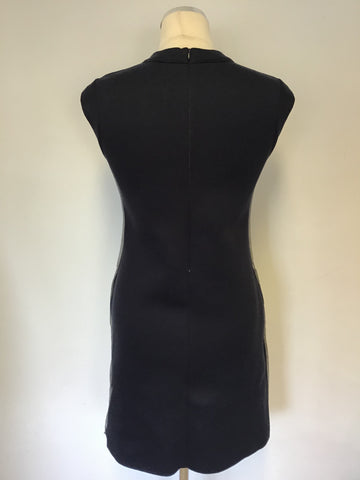 BAND NEW REISS 1971 NAVY/GREY EMBELLISHED SHIFT DRESS SIZE 4