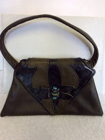 BRAND NEW KINGDOM BROWN LEATHER SHOULDER/HANDBAG