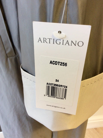 BRAND NEW ARTIGIANO SILVER GREY SWING MAC SIZE 24