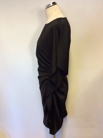 BRAND NEW EX SAMPLE STOCK LK BENNETT BLACK VENUS DRESS SIZE 10