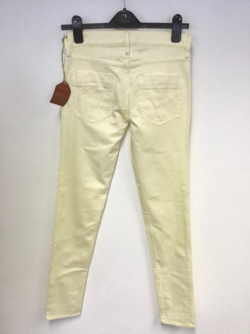 BRAND NEW FRENCH CONNECTION LEMON SLIM FIT JEANS SIZE 10