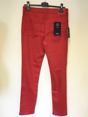 BRAND NEW ARMANI RED  J18 DAHLIA SLIM FIT JEANS SIZE 30