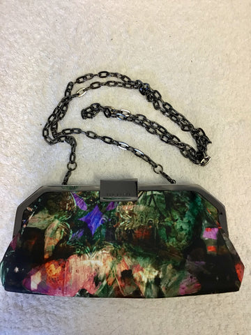 TED BAKER MULTI COLOURED PRINT SMALL CLUTCH/ SHOULDER BAG