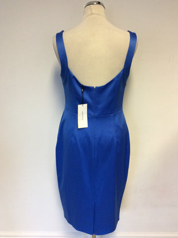 BRAND NEW KAREN MILLEN BLUE SPECIAL OCCASION PENCIL DRESS SIZE 14