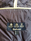BARBOUR FLORA QUILTED JACKET IN STONE SIZE 14