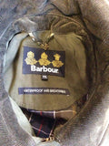 BARBOUR DARK GREEN BEAUFORT JACKET SIZE XXL - Whispers Dress Agency - Mens Coats & Jackets - 9
