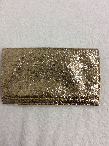 BRAND NEW SOAKED IN LUXURY GOLD GLITTER CLUTCH BAG - Whispers Dress Agency - Clutch Bags - 1
