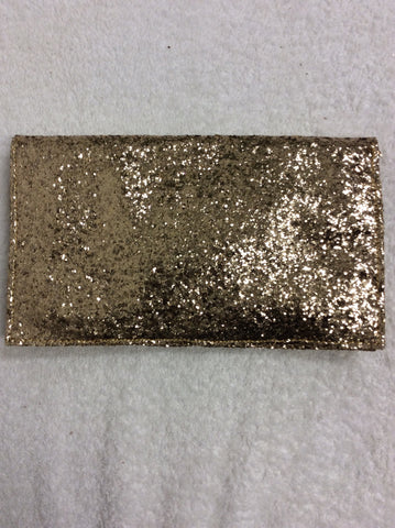 BRAND NEW SOAKED IN LUXURY GOLD GLITTER CLUTCH BAG - Whispers Dress Agency - Clutch Bags - 3