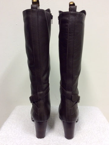 BRAND NEW NATURALIZER BROWN FUR LINED BOOTS SIZE 6.5/40 - Whispers Dress Agency - Womens Boots - 4