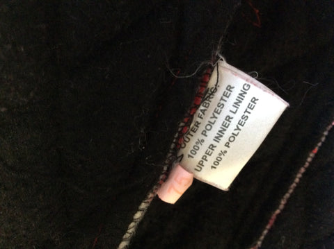 HOLLIES STOCKHOLM BLACK LEATHER & RABBIT FUR GILET SIZE 44 UK 16 - Whispers Dress Agency - Womens Gilets & Body Warmers - 10