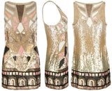 ALL SAINTS SEQUINNED PIPALI MINI DRESS SIZE 10