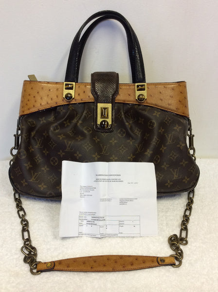 8efca1b0e3b5 LOUIS VUITTON LIMITED EDITION XL OSKAR WALTZ RUNWAY BAG – Whispers ...