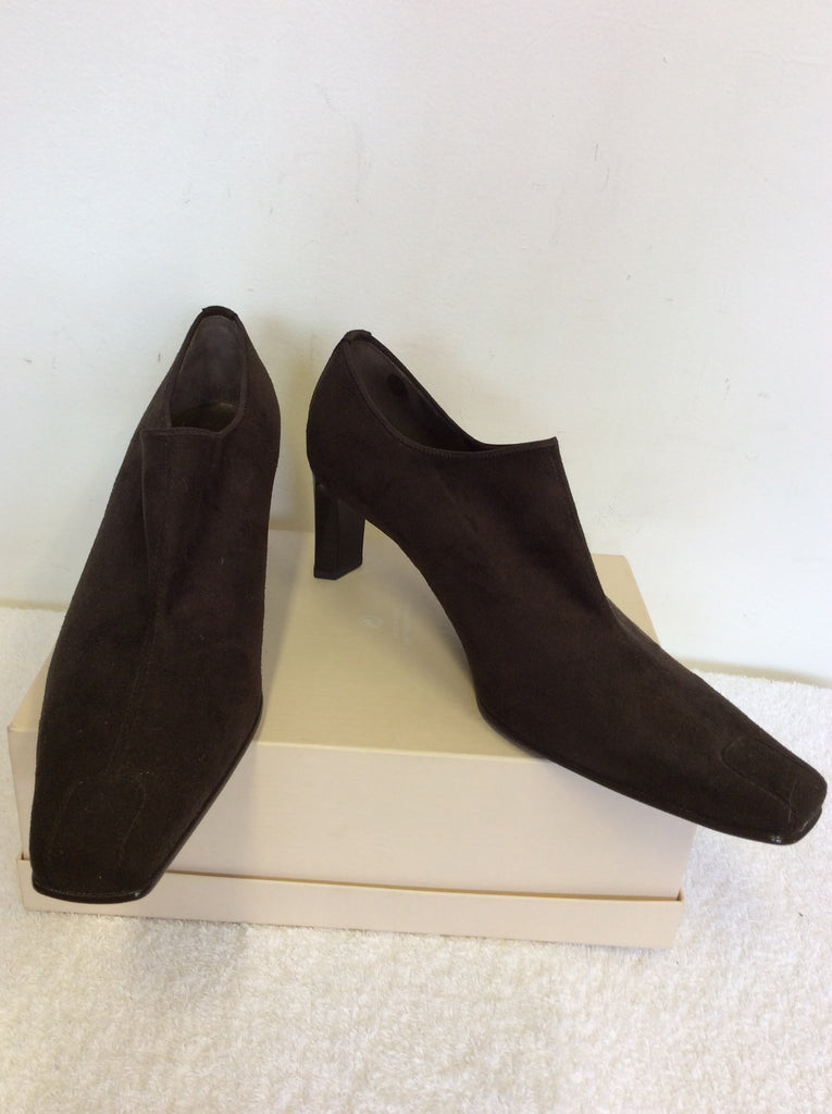 low priced 029c7 e70e5 BRAND NEW GABOR BROWN SUEDE HEELS SIZE 8/42 – Whispers Dress ...