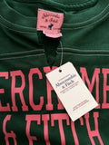 Brand New Abercrombie & Fitch Green Long Sleeve T Shirt Size S - Whispers Dress Agency - Womens T-Shirts & Vests - 3