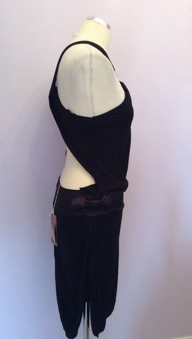 Brand New Hunters & Gatherers Black Open Back Dress Size S - Whispers Dress Agency - Womens Dresses - 3