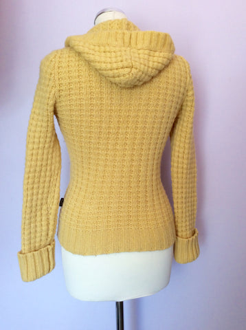 Girls Abercrombie & Fitch Yellow Hooded Jumper Size L - Whispers Dress Agency - Girls Knitwear - 2