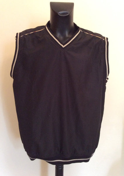 Burberry Golf Reversible Sleeveless Top Size XL - Whispers Dress Agency - Sold - 1