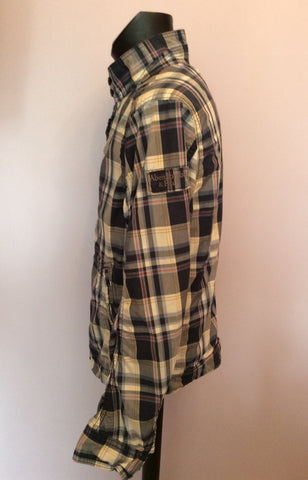 Abercrombie & Fitch Blue Check Hamilton Jacket Size XL - Whispers Dress Agency - Mens Coats & Jackets - 3