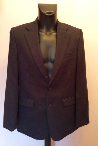 Brand New Jaeger Navy Blue Wool Suit Jacket Size 40R - Whispers Dress Agency - Mens Suits & Tailoring - 1