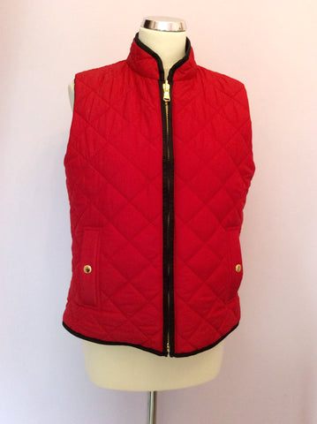 RALPH LAUREN BLACK / RED REVERSIBLE GILET/BODYWARMER SIZE L - Whispers Dress Agency - Womens Gilets & Body Warmers - 4