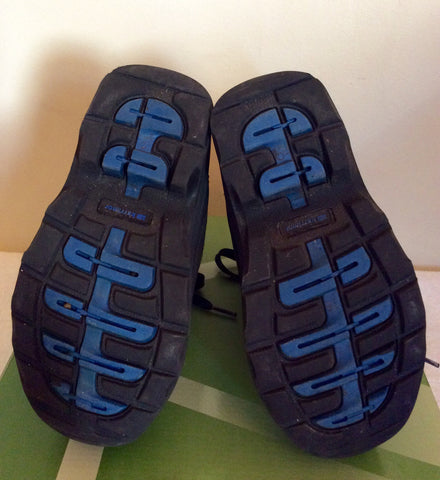 Karrimor Junior Black / Blue Suede Snow / Walking Boots Size 11 - Whispers Dress Agency - Boys Footwear - 5