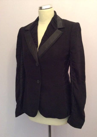 Betty Barclay Black Wool Jacket Size 10 - Whispers Dress Agency - Womens Coats & Jackets - 1