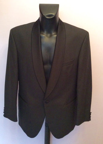 Scott & Taylor Black Tuxedo Wool Blend Suit Size 42R/ 36W - Whispers Dress Agency - Mens Suits & Tailoring - 2