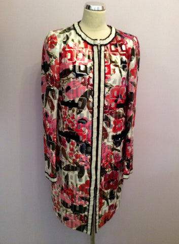 Brand New Dolce & Gabbana Multi Print Coat Size 46 Uk 14 - Whispers Dress Agency - Womens Coats & Jackets - 7