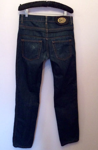 Just Cavalli Dark Blue Slim Leg Jeans Size 29W/33L - Whispers Dress Agency - Mens Jeans - 3