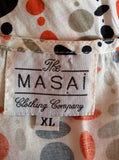 The Masai Clothing Company Print Dress Size XL - Whispers Dress Agency - Sold - 3