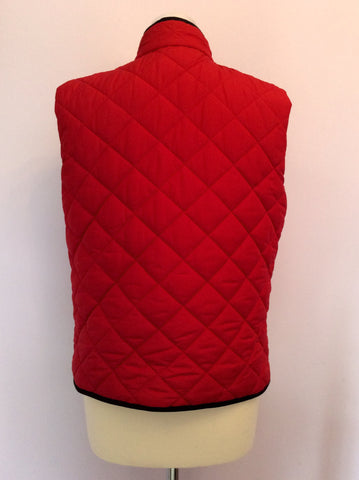 RALPH LAUREN BLACK / RED REVERSIBLE GILET/BODYWARMER SIZE L - Whispers Dress Agency - Womens Gilets & Body Warmers - 5