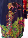Desigual Multi Coloured Print Dress Size XL - Whispers Dress Agency - Sold - 2