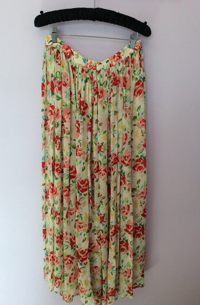 Jackpot By Carli Gry Floral Print Long Skirt Size 4 UK M/L - Whispers Dress Agency - Sold - 1