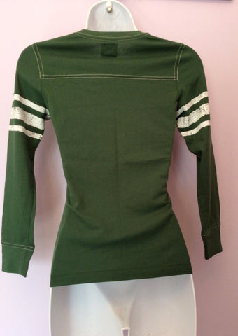 Brand New Abercrombie & Fitch Green Long Sleeve T Shirt Size S - Whispers Dress Agency - Womens T-Shirts & Vests - 2