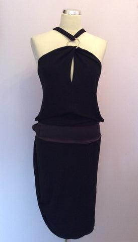 Brand New Hunters & Gatherers Black Open Back Dress Size S - Whispers Dress Agency - Womens Dresses - 1