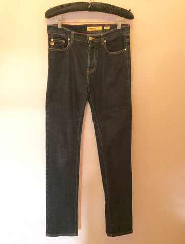 "Miss Sixty Dark Blue Slim Leg Jeans Size 29"" - Whispers Dress Agency - Womens Jeans - 1"