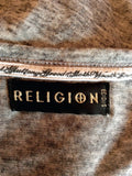 Religion Grey Cowl Neck Cardigan Size 10/S - Whispers Dress Agency - Sold - 4