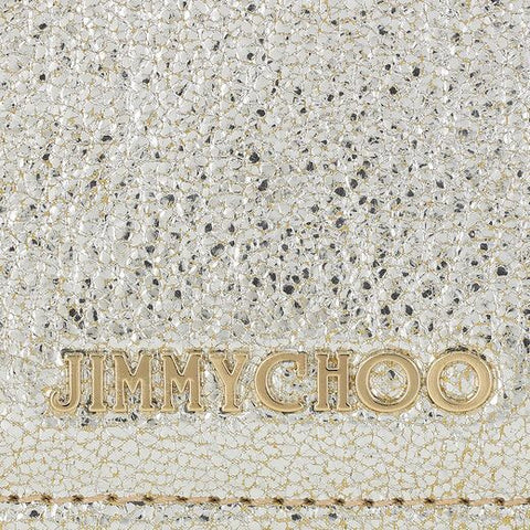 Brand New Jimmy Choo Nikita Champagne Glitter Wallet - Whispers Dress Agency - Clutch Bags - 4