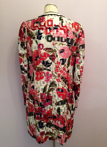 Brand New Dolce & Gabbana Multi Print Coat Size 46 Uk 14 - Whispers Dress Agency - Womens Coats & Jackets - 6