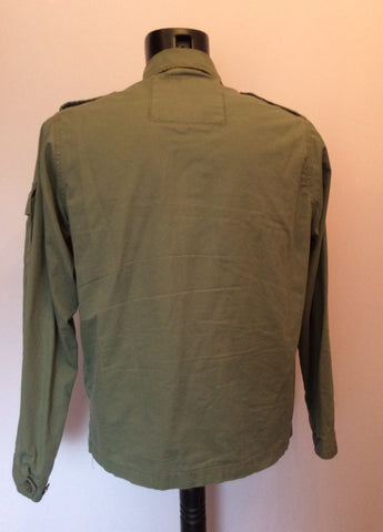 Abercrombie & Fitch Green Cotton Jacket Size M - Whispers Dress Agency - Mens Coats & Jackets - 2