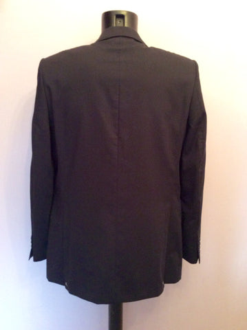 Brand New Jaeger Navy Blue Wool Suit Jacket Size 40R - Whispers Dress Agency - Mens Suits & Tailoring - 4